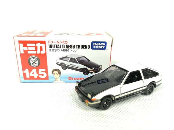 Corolla AE86 Trueno - Tomica Dream Series (1/61)