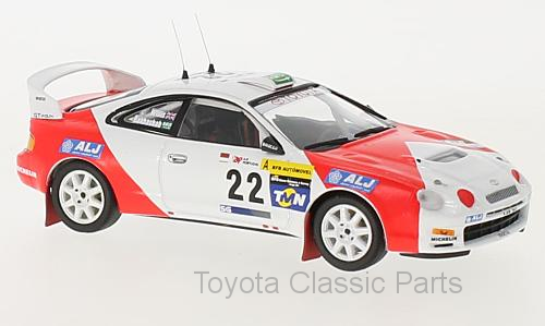 Celica GT Four (ST205) No. 22 - Limited Edition - Trofeu 1/43