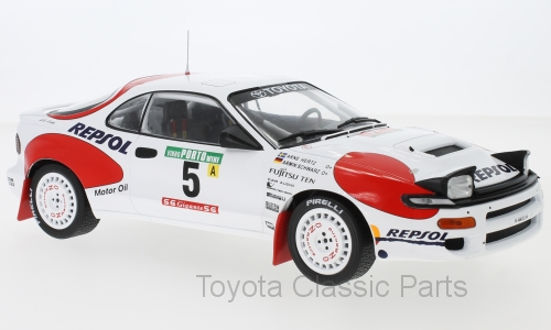 Celica GT-Four (ST185) No. 5 - IXO (1/18)