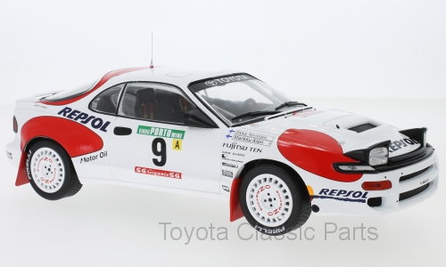 Celica GT-Four (ST185) No. 9 - IXO (1/18)