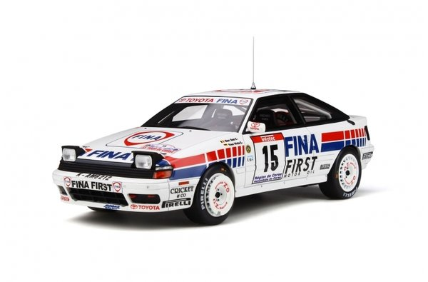 Celica GT-Four (ST165) No. 15 - Otto-Models 1/18