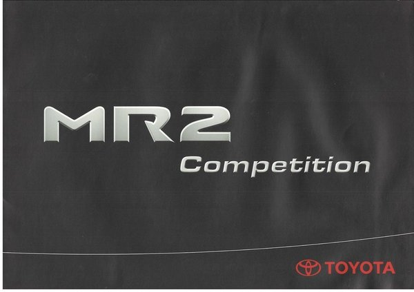 MR2 W3 Competition (04/2002)