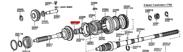 90361-06047 / Bearing, Input Shaft