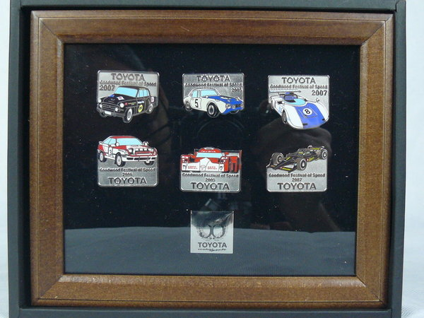 Toyota Motorsport 50th Anniversary  6 Pins